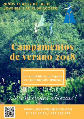 Campamentos de verano Q2018